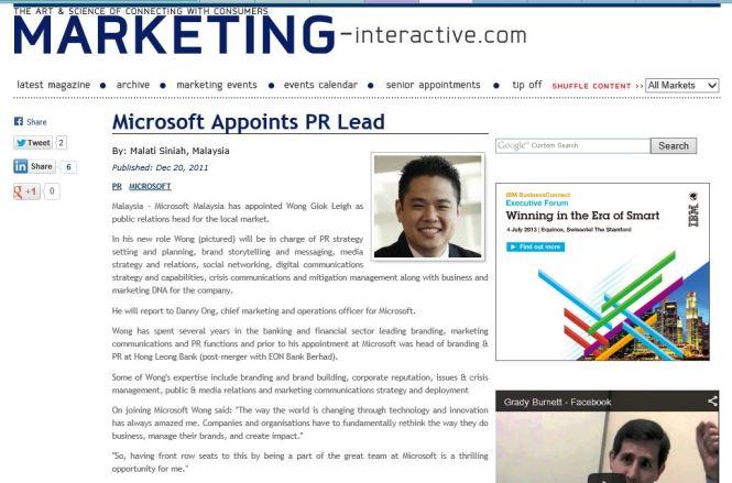 MicrosoftAppointsPRLead
