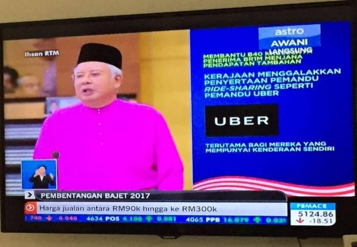 PMNajibUberMalaysia